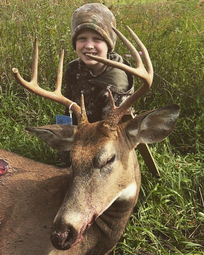 Un fils Schwandt à la chasse