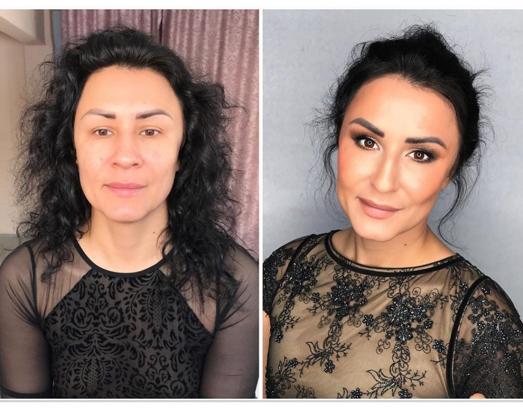 Maquillage et coiffure embellissement