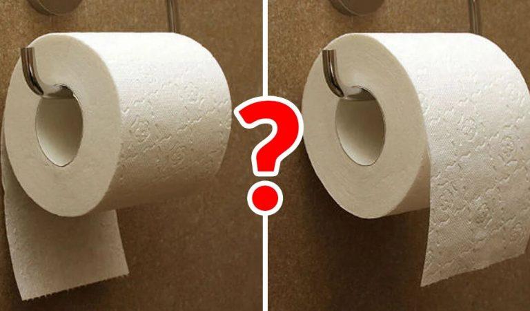 La feuille de papier toilette va-t-elle en dessous ou par-dessus ? Une notice des années 1800 fournit la réponse