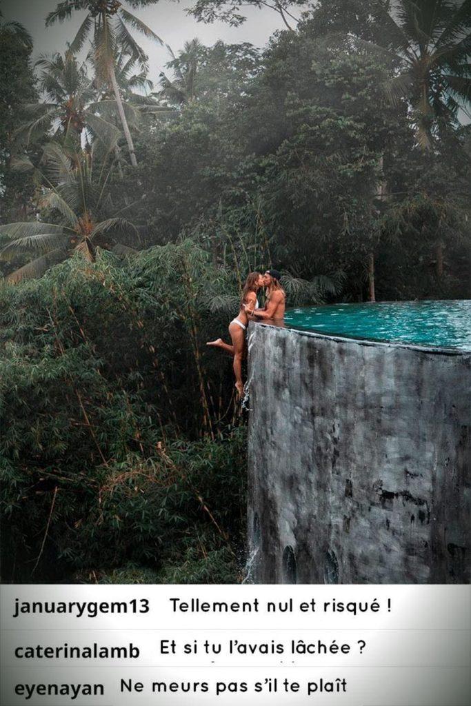 photo instagram piscine foret