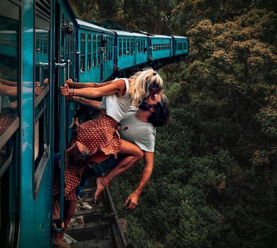 train photo incroyable