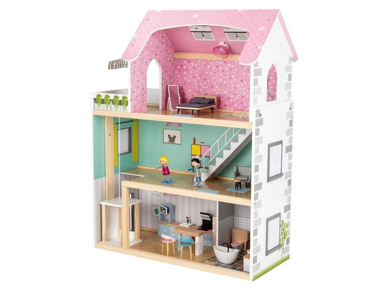 maison de poupées en bois lidl