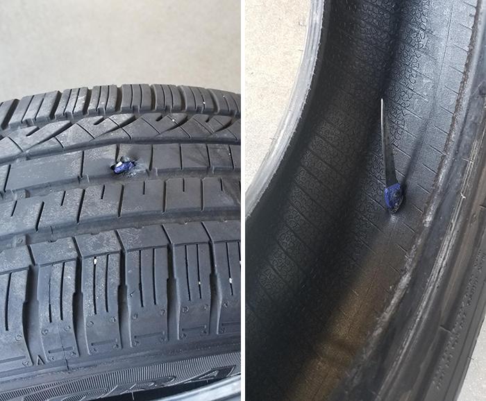 magasins de pneus pires demandes réparation