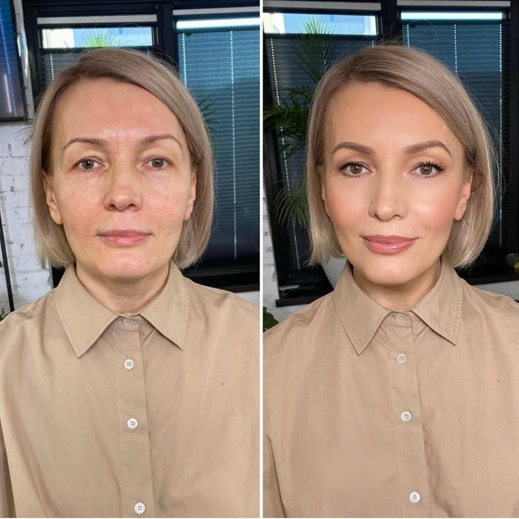 séance maquillage incroyable