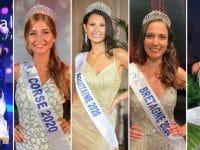 5 des 30 miss régionales prétendante au titre de Miss France