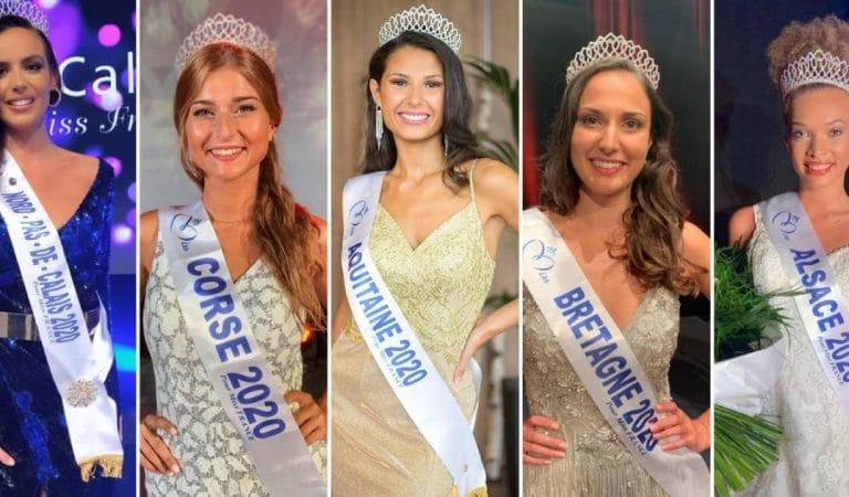 Miss France 2021 : Le visage de la nouvelle reine de beauté se cache parmi ces prétendantes