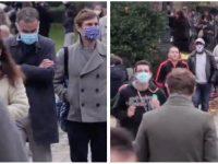 Les Parisiens dans les parcs malgré le reconfinement