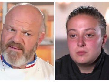 Philippe Etchebest et Maëva dans Objectif Top Chef.