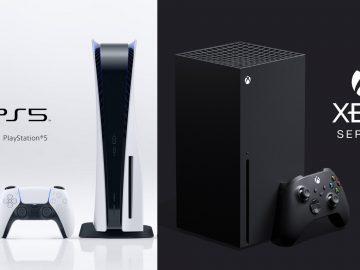 La PS5 et la Xbox séries X