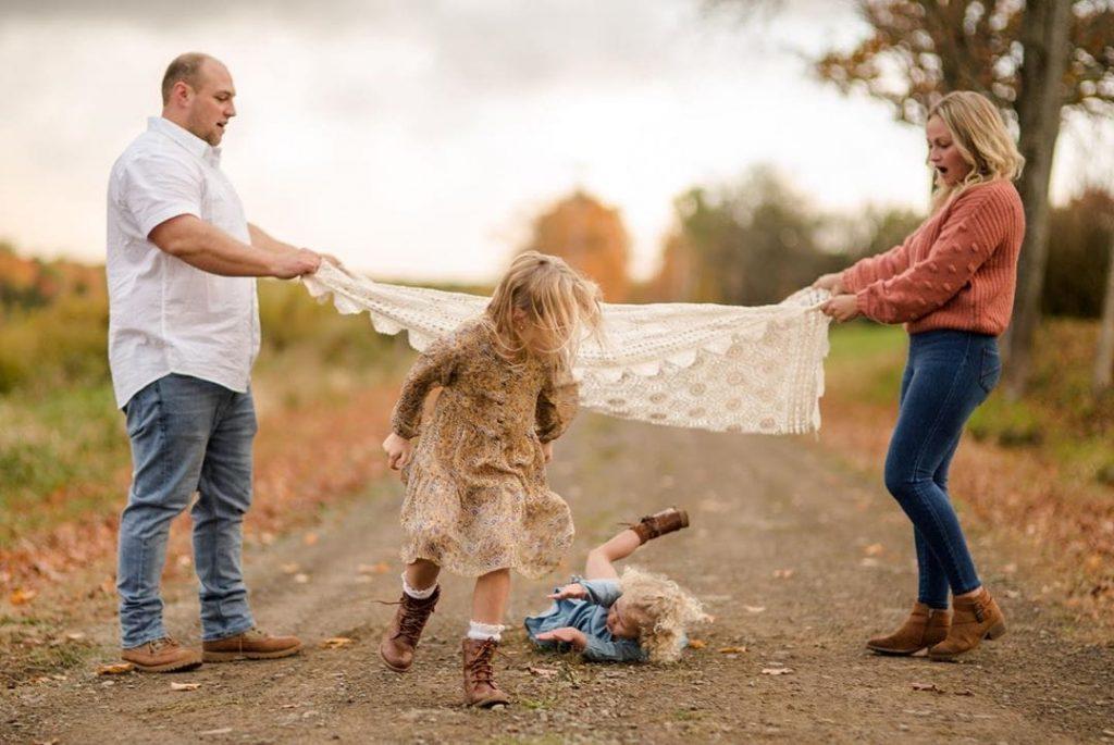 photo de famille marrante
