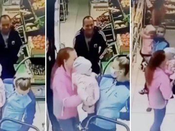Vidéo : Une maman se trompe d'enfant dans un magasin et tient le mauvais bébé entre les mains