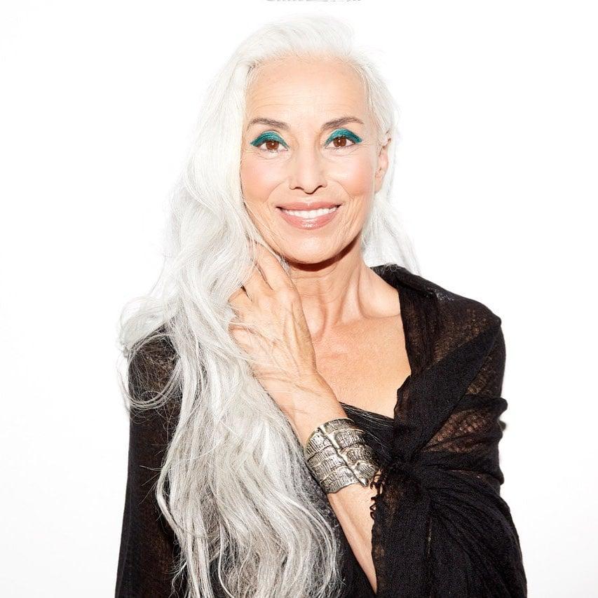 Yazemeenah Rossi mannequin française plus belle mamie du monde