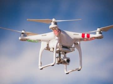 Un drone de la police