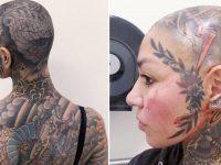 Les tatouages de Julia Nuno