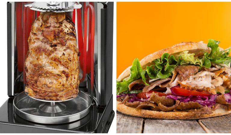 Une mini rôtissoire pour faire vos propres kebabs et poulets rôtis maison