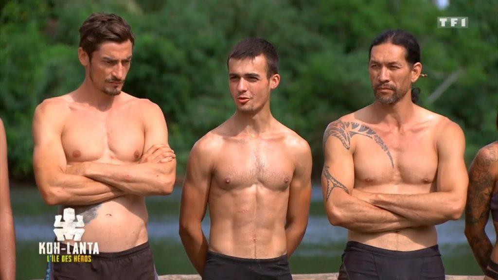 Claude, Sam et Teheiura sur l'Île des héros