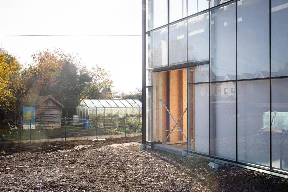maison ossature bois autonome