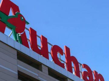 Panneau Auchan
