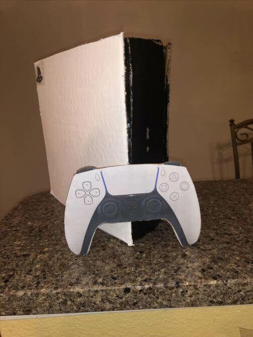 La playstation en carton