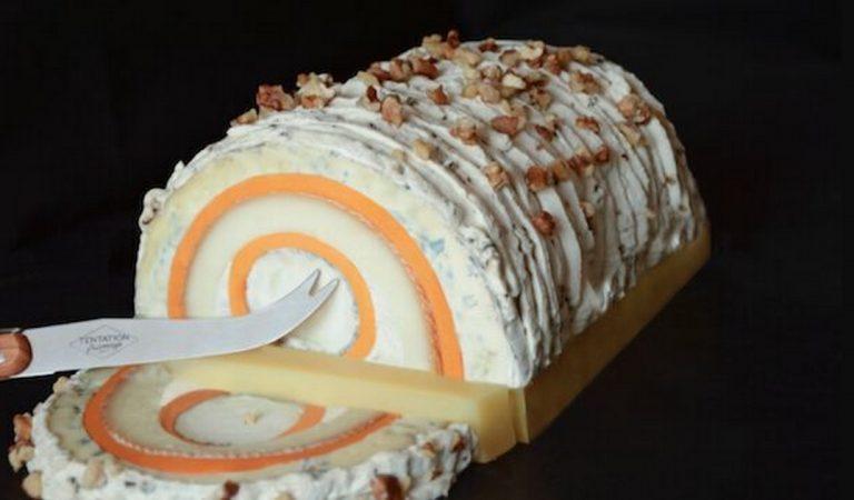 Pour Noël, osez l'originalité avec la bûche… aux 7 fromages!