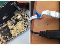 Réparations informatiques dangereuses