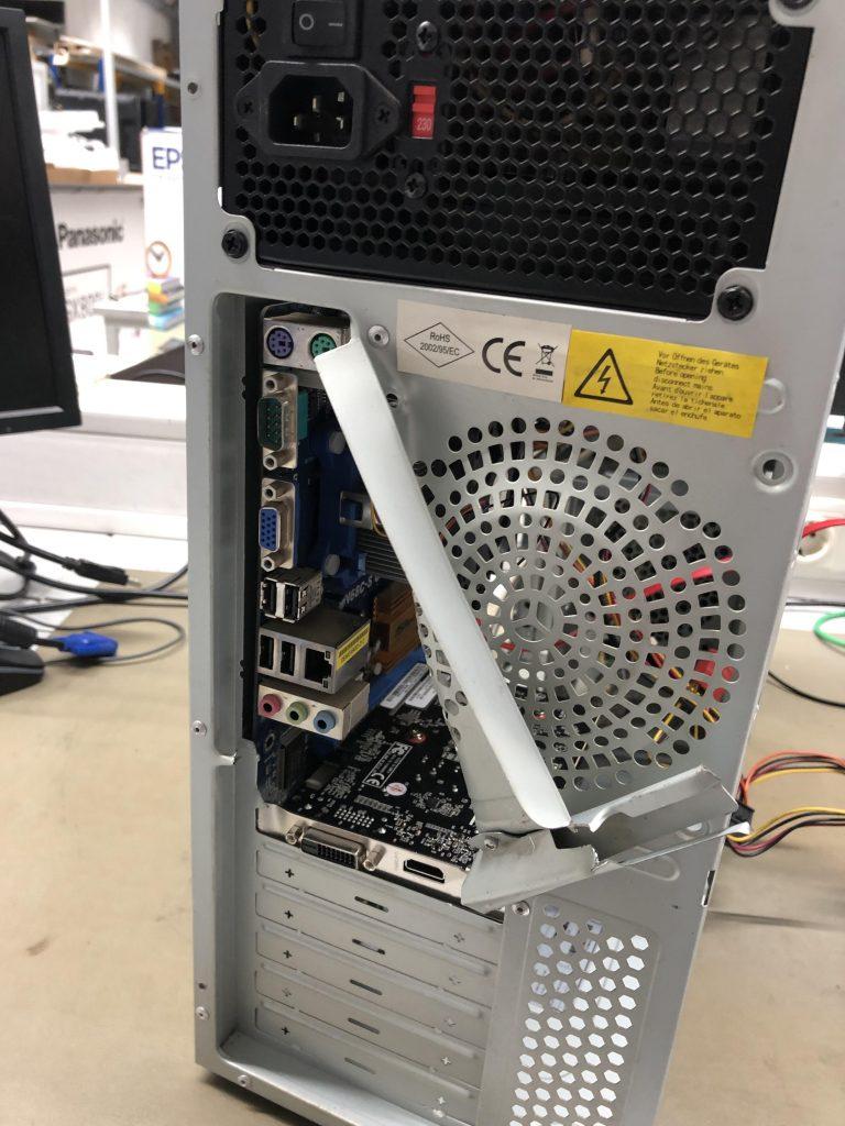 tour PC cassée
