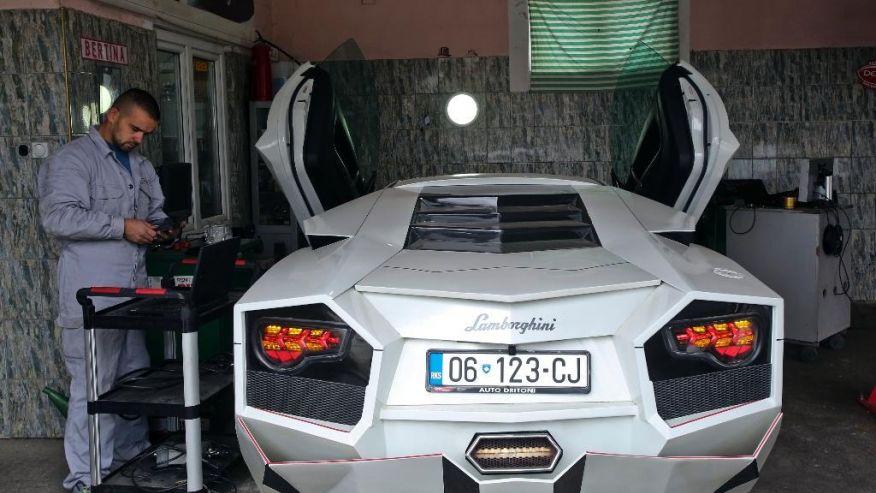 Driton Selmani Lamborghini