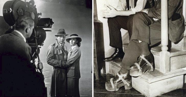 Humphrey Bogart et Ingrid Bergman
