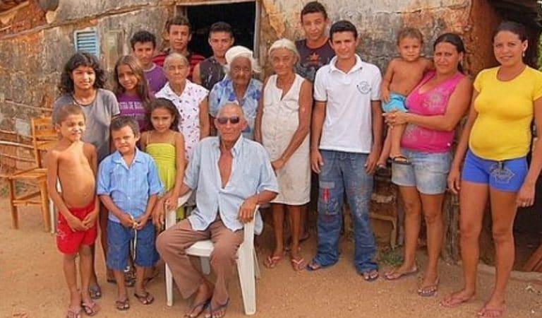 Un fermier brésilien a eu 50 enfants, dont 15 avec sa belle-soeur et 1 avec sa belle-mère !
