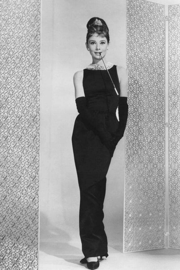 Femme des années cinquante ou soixante - Audrey Hepburn