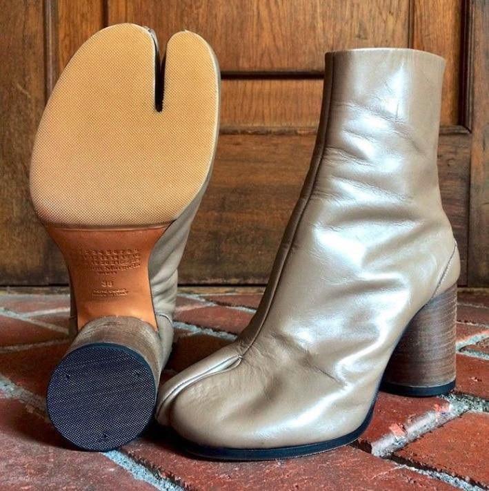Des chaussures mouffles