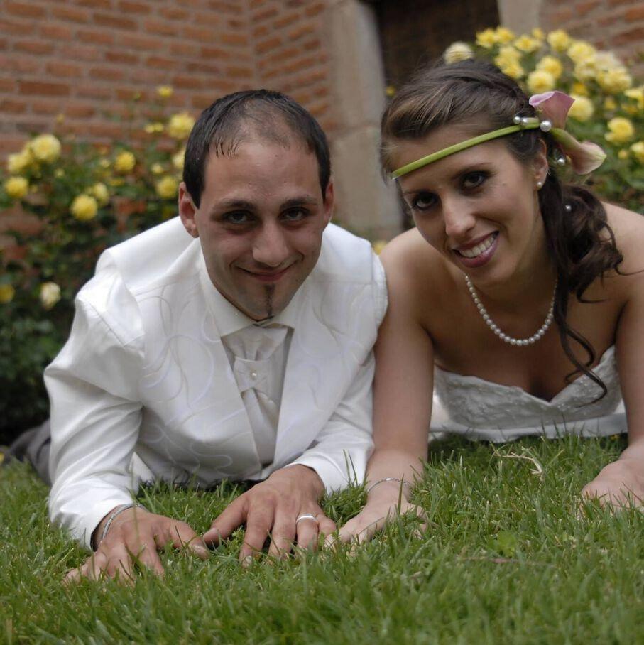 Delphine Jubillar et son mari Cédric