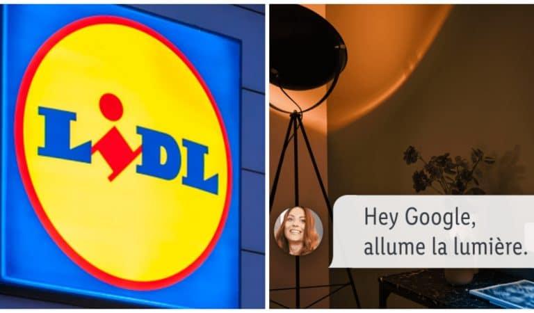 Lidl révolutionne nos maisons avec des produits intelligents à prix cassés