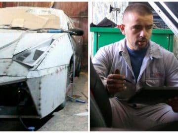 La Lamborghini de Driton Selmani