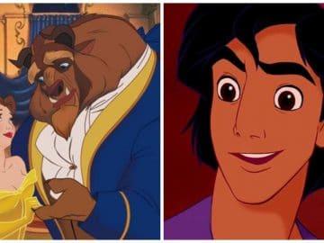 La Belle et la Bête, Aladdin, dessins animés de Disney censurés