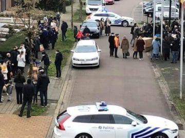 Le mariage d'un policier belge à Saint Amand