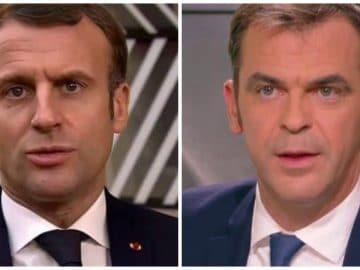 Emmanuel Macron et Olivier Véran