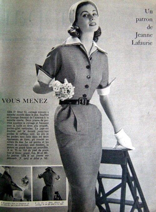 Femme des années cinquante ou soixante