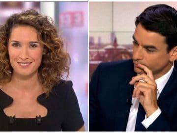 Marie-Sophie Lacarrau et Julian Bugier