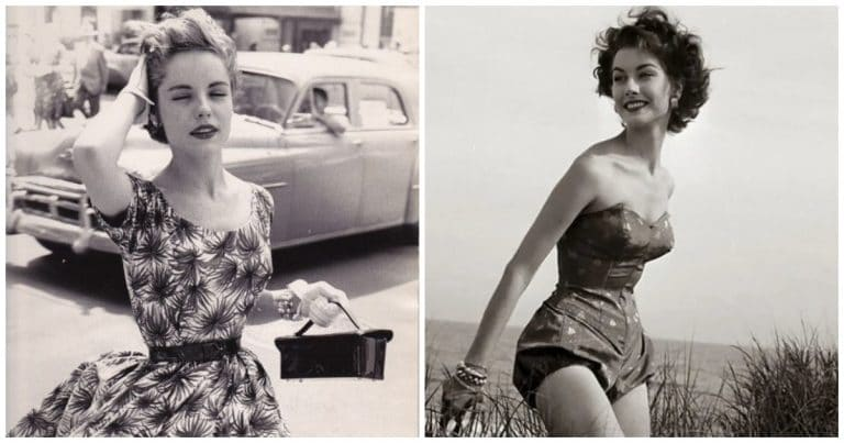 Femmes des années 50 et 60