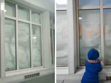russie chute de neige hallucinantes Norilsk