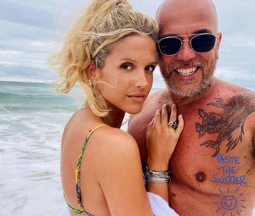 Julie et Pascal Obispo