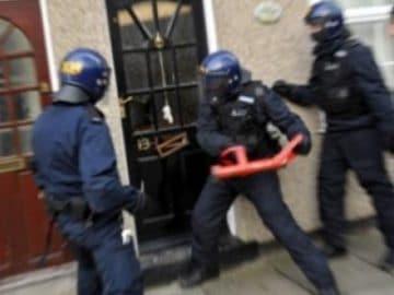 Une perquisition de police