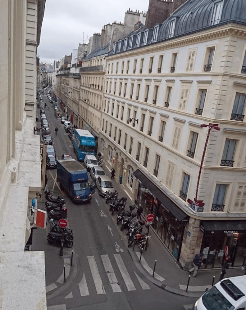 Rue de Trévise dans le 9e arrondissement de Paris.