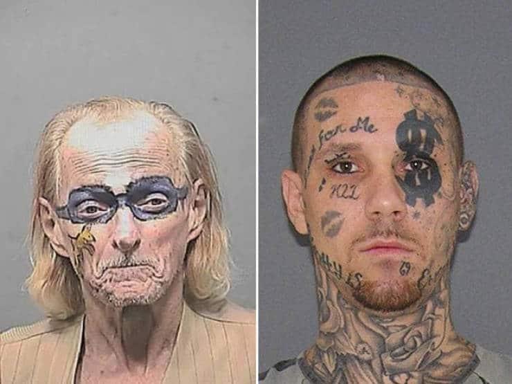 Des tatouages sur le visage