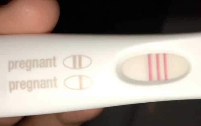 test de grossesse defectueux