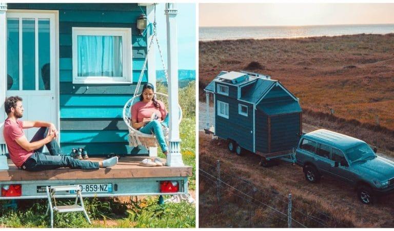 Tout plaquer pour voyager dans une « Tiny house »:  Yunaë et Jonathan l'ont fait !