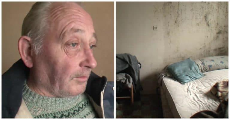 Un retraité sans domicile fixe