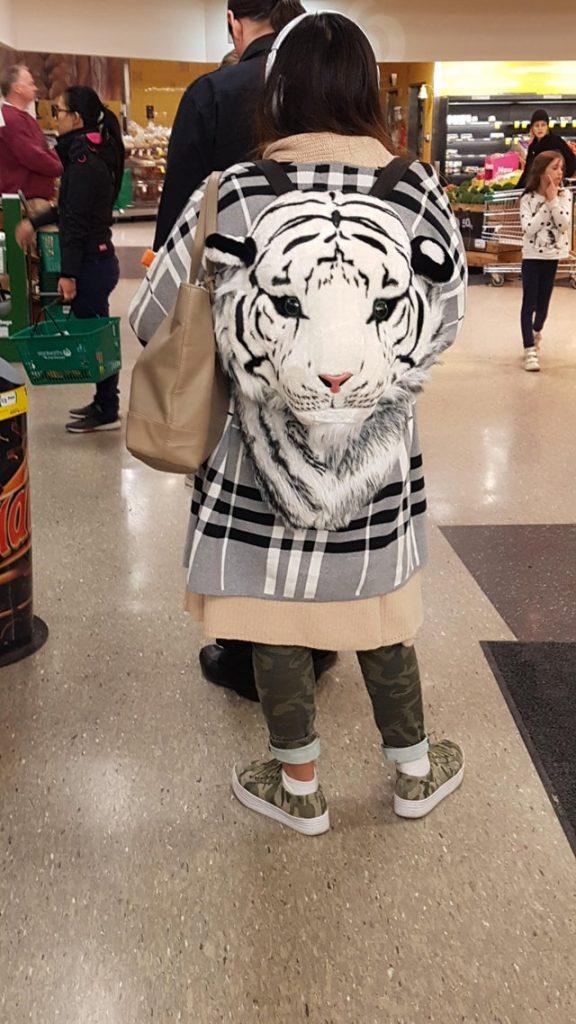 une veste tigre