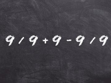 énigme mathématique suite de 9